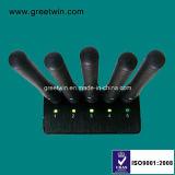 Brouilleur tenu dans la main de signal de brouilleur de cinq antennes lors du contact secret (GW-JN5)
