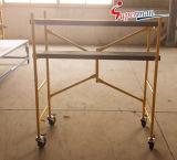 Mini échafaudage pliable en acier (SM-SS10)