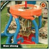 Máquina soplada plástico 45-2-55-1-1600 de la película de la coextrusión de tres capas