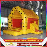 Gorila de salto inflable del castillo inflable popular, gorila inflable colorida barata para los cabritos