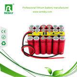 Un38.3 giù pacchetto della batteria del tubo 48V 11.6ah per il pattino elettrico