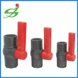UPVC doppeltes Verbindungsstück-Kugelventil-Plastikkugelventil