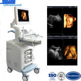 4D Scanning Double Screen Color Doppler Ultrasound Scanner Machine
