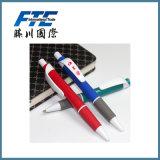 Crayon lecteur remplaçable de drapeau de stylos bille de modèle pour des cadeaux
