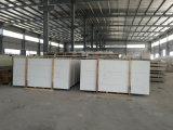 Dessus Cut-to-Size par construction préfabriquée plate Polished de Quartzstone blanc