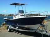 Liya pequeños barcos del Panga del barco de pesca de la fibra de vidrio de los 4.2m a de los 7.6m para la venta (SW760)