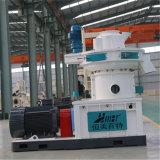 Vertical anillo de biomasa de pellets que hace la máquina