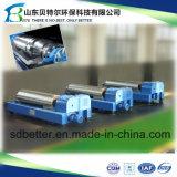 Centrifugador de secagem do filtro da lama, 304/316 de aço inoxidável