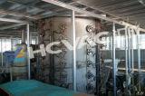 Edelstahl-Blatt-Rohr-Gold, Rosegold, Schwarzes, blaue Vakuumbeschichtung-Maschine des Aufdampfen-PVD