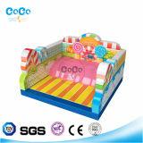 Coco-Wasser-Entwurfs-Süßigkeit-Thema-aufblasbarer Prahler auf Lager (LG9032)