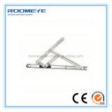Roomeye a personnalisé le guichet en plastique de tissu pour rideaux de double profil en verre UPVC/PVC de 6mm
