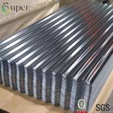 La feuille galvanisée de fer ondulé/a ridé la feuille de toiture en métal