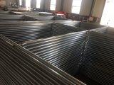 6ftx12FT 1830mm x 3650mm пакуя в паллете металла, временно ограждая стойках и панелях муфты горячих гальванизированных Dipepd временно ограждая