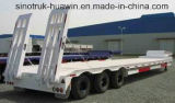 Sinotruk Huawin 3-Axle 50t Low Bed Semi Trailer