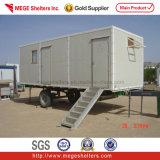 Camera prefabbricata modulare/mobile di 20FT del contenitore con le rotelle e le scalette (CH-455)