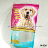 Пользовательские печатных Heavy Duty Puppy Продовольственная сумка с боковых складок