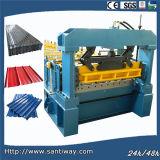 Máquina da formação fria do rolo do metal para o telhado de China