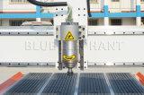 1300 * 2500 máquina del grabador del ranurador del CNC del eje del milímetro 4 en buen precio con el dispositivo rotatorio en el vector de funcionamiento del vacío