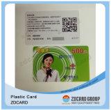 プラスチック従業員IDのカードPVC Facebook IDのカード