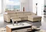 Modernes Freizeitrecliner-Leder-Sofa