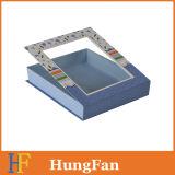 Коробка подарка портативного картона твердая складная бумажная упаковывая