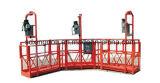 足場によって動力を与えられる受け台に構築のゴンドラとして使用するZlp500/630/800suspendedの働きプラットホーム