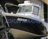 Barco de pesca de alumínio (cabine 685)
