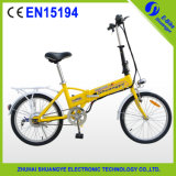 セリウムEn 15194との新しいShuangye Mini Lightweight Electric Bicycle