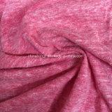 Filé T/C/R 50/38/12, 150GSM, tissu de tricotage simple de neige du Jersey pour l'usure de Causl