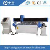 Machine de découpage de plasma avec la pièce d'assemblage rotatoire