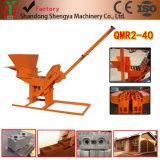 手操作Qmr2-40の粘土のLegoのブロック機械