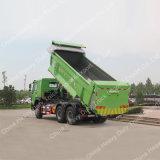 Tipper dos veículos com rodas dos eixos 10 do tipo 3 de HOWO/descarregador/caminhão de descarga