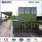 Prefab Container House avec toilette comme cabine Single Department