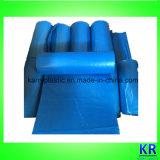 Sacs de transporteur de sachets en plastique de LDPE pour le détritus de ramassage