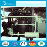 refrigeratore di acqua raffreddato aria semiermetica della vite 400kw