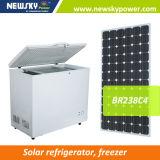 233L do congelador solar solar solar do refrigerador da C.C. da espessura da manufatura congelador solar do refrigerador 110mm