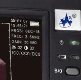 Животная ветеринарная компьтер-книжка Handheld Doppler Doppler черноты ультразвука