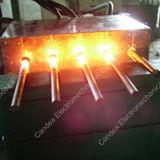 Four électrique Mf-100kw de pièce forgéee de chaufferette d'admission magnétique d'IGBT