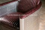 طيّار أريكة, ألومنيوم متّكأ أريكة, [بروون] غلّة كرم جلد أريكة