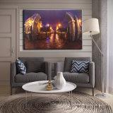 Vente en gros 2016 Dernières peintures à l'huile à LED sur toile Arc de triomphe