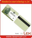 Cartes vierges estampées par coutume bon marché de plastique d'adhésion de PVC