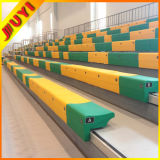 Jy-750 Telescopic Moveable Retractable Grandstand Bleacher Plastic Grandstand Plastic Bench Seats
