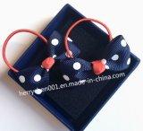 Mädchen-Haar-Gummibänder mit Bowknot, Nr. 17020
