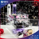 Cadre de mémoire acrylique de bijou cosmétique d'organisateur