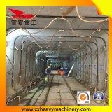 Equipamento da escavação de um túnel do retângulo