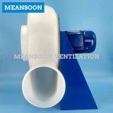 10 pulgadas 250 de la CA de la corrosión de ventilador anti plástico industrial del centrífugo