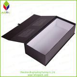 Papier de luxe empaquetant la boîte se pliante noire