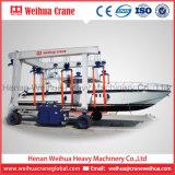 Grue de portique de levage de bateau de Weihua, grue mobile d'élévateur de bateau, machine traitante de yacht