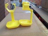 As aves domésticas da grelha abrigam a casa de /Chicken com equipamento automático do jogo cheio