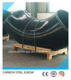 90 codo del acero de las instalaciones de tuberías del grado LR ASTM A234wpb